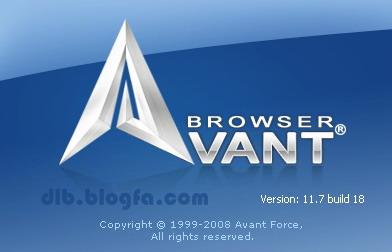 Avant Browser 11.7 build 18